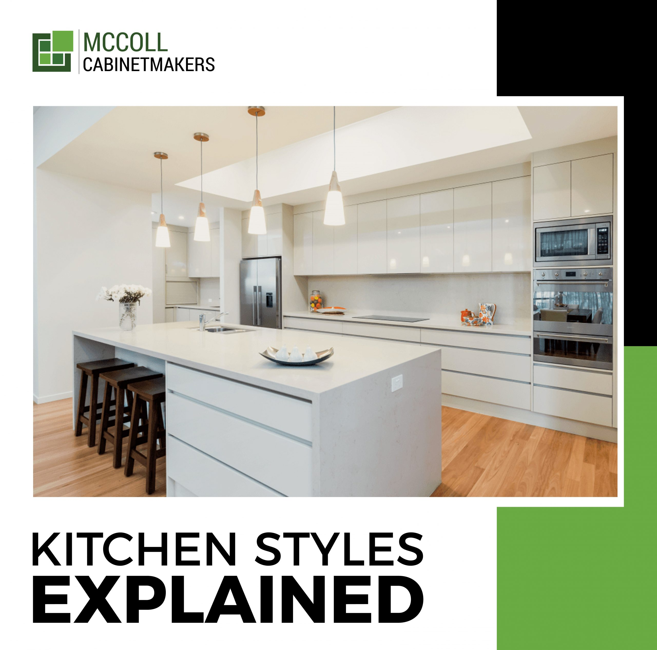 The different styles of kitchens explained.