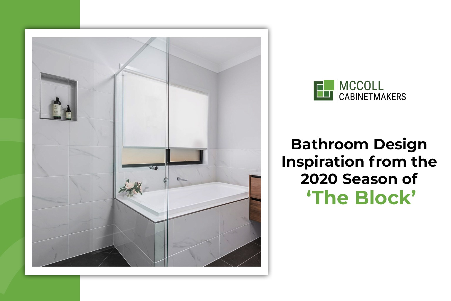 Bathroom Design Inspiration from the 2020 Season of 'The Block'